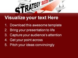 Strategy Paper Airplane Business PowerPoint Templates And PowerPoint Backgrounds 0911  Presentation Themes and Graphics Slide02