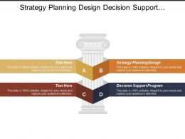 Strategy Planning Design Decision Support Program Plants Location