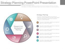 Strategy Planning Powerpoint Presentation