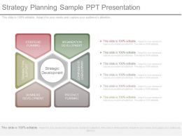 Strategy Planning Sample Ppt Presentation