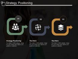 Strategy Positioning Ppt Powerpoint Presentation Portfolio Designs Download Cpb