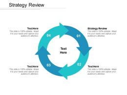 Strategy Review Ppt Powerpoint Presentation Show Cpb