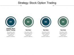 Strategy Stock Option Trading Ppt Powerpoint Presentation File Themes Cpb