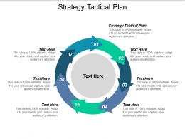 Strategy Tactical Plan Ppt Powerpoint Presentation Show Icons Cpb