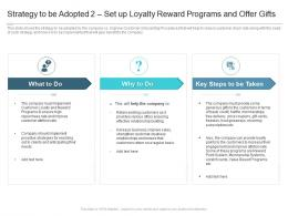 Strategy To Be Adopted 2 Set Up Loyalty Reward Programs And Offer Gifts Reasons High Customer Attrition Rate