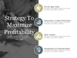 Strategy To Maximize Profitability Ppt Examples