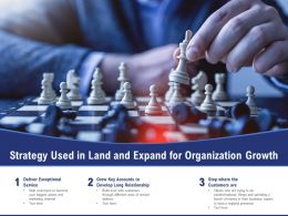 Strategy Used In Land And Expand For Organization Growth