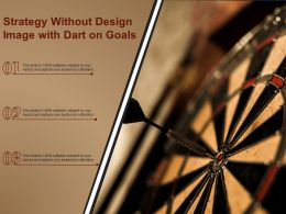 Strategy Without Design Image With Dart On Goals