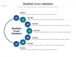 Stratified Cross Validation Ppt Powerpoint Presentation Summary Outline Cpb