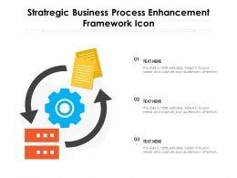 Stratregic Business Process Enhancement Framework Icon