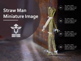 Straw Man Miniature Image