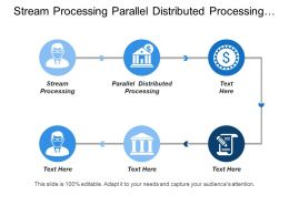 Stream Processing Parallel Distributed Processing Loosely Structured Forecasting Simulation