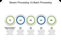 Stream Processing Vs Batch Processing Ppt Powerpoint Presentation Deck Cpb