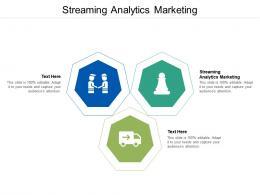 Streaming Analytics Marketing Ppt Powerpoint Presentation Model Smartart Cpb