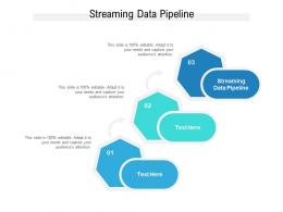 Streaming Data Pipeline Ppt Powerpoint Presentation File Mockup Cpb