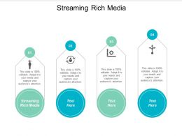 Streaming Rich Media Ppt Powerpoint Presentation Gallery Objects Cpb