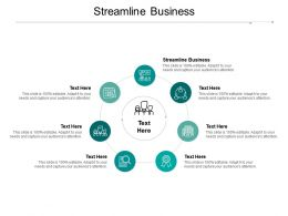 Streamline Business Ppt Powerpoint Presentation Gallery Gridlines Cpb