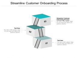 Streamline Customer Onboarding Process Ppt Powerpoint Presentation Slides Cpb