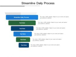 Streamline Daily Process Ppt Powerpoint Presentation Infographic Template Deck Cpb