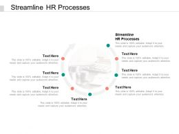 Streamline HR Processes Ppt Powerpoint Presentation Slide Cpb