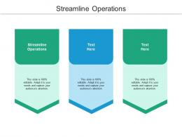 Streamline Operations Ppt Powerpoint Presentation Tips Cpb