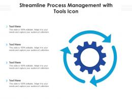 Streamline Process Management With Tools Icon