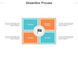 Streamline Process Ppt Powerpoint Presentation Infographics Layout Ideas Cpb