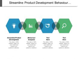 Streamline Product Development Behavior Analytics Change Management Digital Marketing Cpb