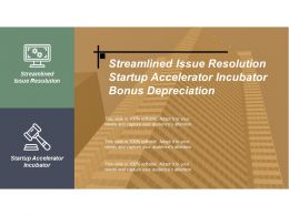 streamlined_issue_resolution_startup_accelerator_incubator_bonus_depreciation_cpb_Slide01