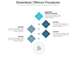 Streamlined Offshore Procedures Ppt Powerpoint Presentation Show Example File Cpb