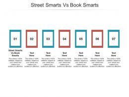 Street Smarts Vs Book Smarts Ppt Powerpoint Presentation Infographics Layout Cpb