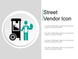 Street Vendor Icon