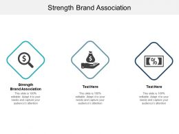 Strength Brand Association Ppt Powerpoint Presentation Layouts Example Topics Cpb