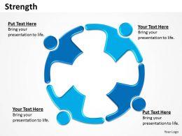 Strength diagram powerpoint