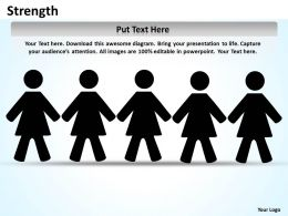 strength template