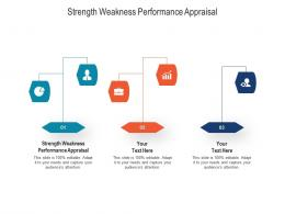 Strength Weakness Performance Appraisal Ppt Powerpoint Presentation Infographic Template Graphic Images Cpb
