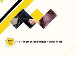 Strengthening Partner Relationship M380 Ppt Powerpoint Presentation Layout