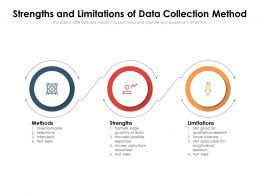 Strengths And Limitations Of Data Collection Method