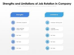 Strengths And Limitations Of Job Rotation In Company
