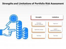 Strengths And Limitations Of Portfolio Risk Assessment
