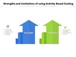 Strengths And Limitations Of Using Activity Based Costing