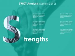 Strengths Ppt Sample