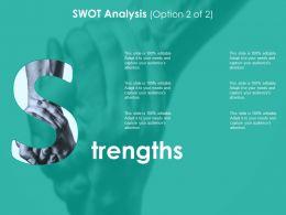 Strengths Ppt Sample