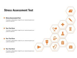 Stress Assessment Test Ppt Powerpoint Presentation Slides Deck
