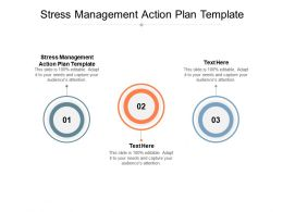 Stress Management Action Plan Template Ppt Powerpoint Presentation Model Graphics Cpb