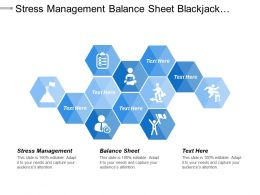 Stress Management Balance Sheet Blackjack Strategy Business Innovations Cpb