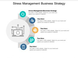 Stress Management Business Strategy Ppt Powerpoint Presentation Slides Backgrounds Cpb