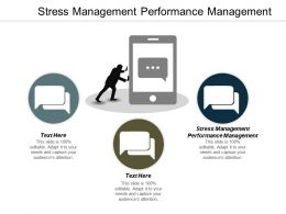 Stress Management Performance Management Ppt Powerpoint Presentation Gallery Graphics Tutorials Cpb