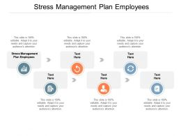 Stress Management Plan Employees Ppt Powerpoint Presentation Infographic Template Cpb