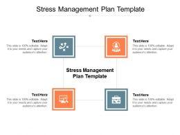 Stress Management Plan Template Ppt Powerpoint Presentation File Deck Cpb